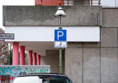 Parkplätze für Schwerbehinderte in Cuxhaven